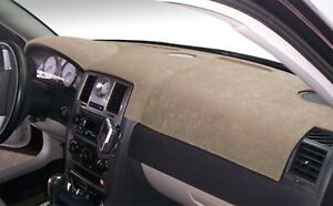 Dodge Charger 2011 2020 Brushed Suede Dash Board Cover Mat Mocha