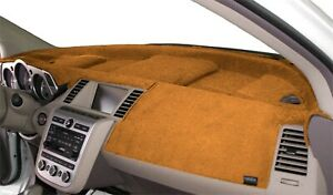 Dodge Charger 2011 2020 Velour Dash Board Cover Mat Saddle