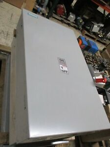 Siemens Non fusible Safety Switch Disconnect Hnf365 400a 600v 3p New Surplus