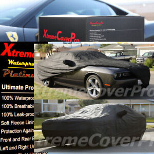 Custom Fit 2013 2014 2015 Dodge Challenger Waterproof Car Cover Black
