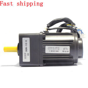220v 15w Ac Single Phase Gear Motor Electric Motor Variable Speed Controller New