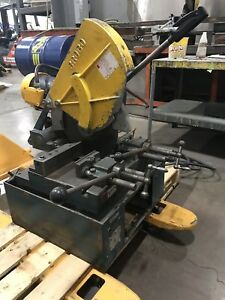 Brobo Waldown S400a Cold Saw 14 Blade Metal Working Steel
