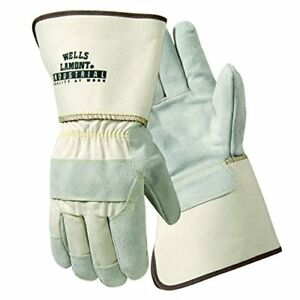 Wells Lamont Industrial Leather Y3015xl Kevlar Sewn Leather Gloves pack Of 12