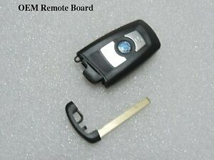 New Chip Remote Keyless Truly Virgin Smart Key For Bmw Fem System 1 2 3 4 Series