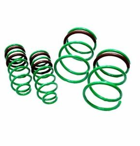 Tein S tech Front And Rear Lowering Coil Springs For 1994 2004 Ford Mustang