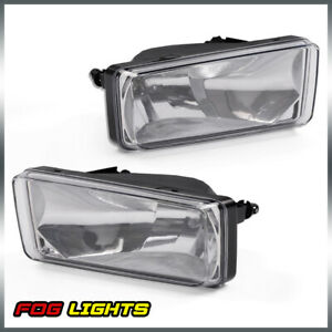 Fog Lamp Light Clear Lens Bulb For 2007 2014 Chevy Silverado 2pcs