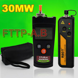 Mini Fiber Optic Power Meter 30mw Visual Fault Locator Fiber Optic Cable Tester