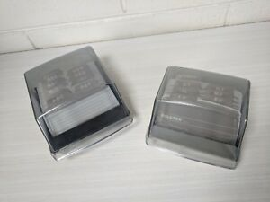 Vintage Lot Of 2 Rolodex Card File S310c S300c Rolodex With Cards Tabs