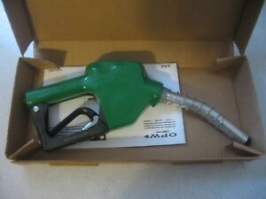Opw Leaded Green Fuel Nozzle 11a 0100 Nos