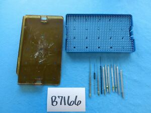 Storz Katena Surgical Ophthalmic Instruments W Case