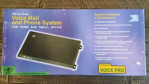 Tcl Voice Pro Vp408 412 Voice Mail And Phone System For Small Office
