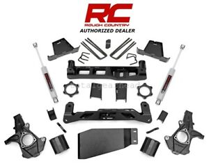 2007 2013 Chevrolet Gmc 1500 4wd 6 Rough Country Lift Kit W n3 236 20