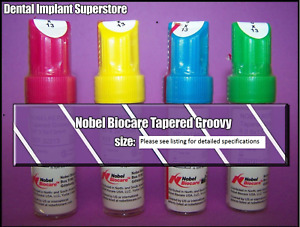 Nobel Biocare Np Tapered Groovy 3 5 X 10mm Exp 2022 02