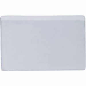 Superscan Lh208 Press on Vinyl Envelopes Long Side Open 3 X 5 Pack Of 50