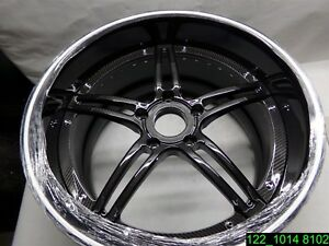 20 Carbon Fiber 5 Spoke Wheel Rim 12 Wide 5 Lug On 4 7 8 New