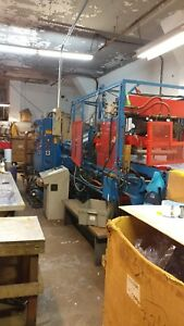 Thermoforming Machine Brown Inline Model 2025 With 24 Master Tooling