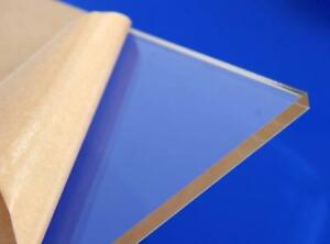 1 16 0 080 2mm Thin Clear Acrylic Sheet Plexiglass 12 x12 Azm