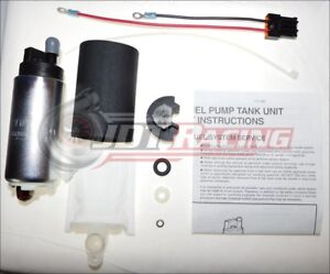 New Walbro 255lph Hp Fuel Pump Kit 90 94 Eclipse Talon Laser 1g Dsm Awd Turbo