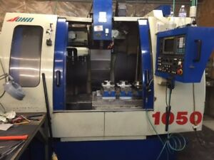 2005 Johnford Vmc 1050 Cnc Vertical Machining Center