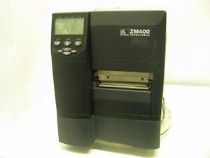 Zebra Zm400 Label Printer Network Usb Zm400 2001 0100t