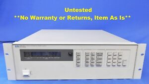 Agilent Hp Keysight 6623a Precision System Power Supply 80w 3 Outputs Item As Is
