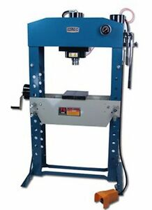 Baileigh Industrial Hsp 75a 75 Ton Air Hydraulic Shop Press 9 8 Stroke