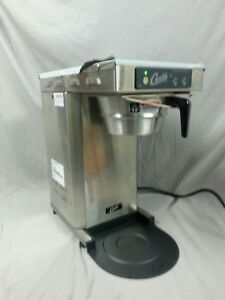 Curtis Tlp12a Low Profile Automatic Airpot Brewer Stainless 120v 1500 Watt