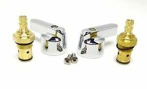 Perlick Replacement Valves Handles Kit For 1 3 4 Spread Faucet 43146 43714