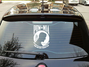 Pow Mia Prisoners Of War You Are Not Forgotten Vinyl Decal All Colors And Sizes