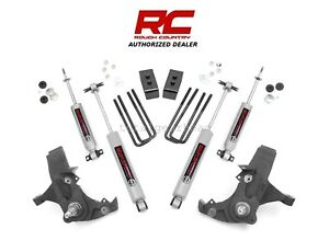 1988 1998 Chevrolet Gmc 1500 2wd 4 Rough Country Suspension Lift Kit N3 231n2
