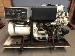 Cummins Onan Marine Generator 20kw Single Phase
