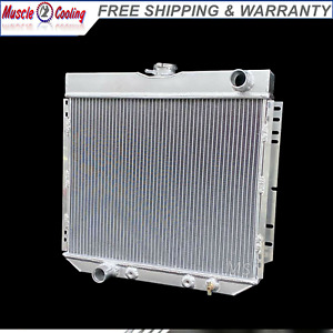 3 Rows Radiator For 1969 1973 Ford Maverick Mustang 71 73 Comet all Aluminum