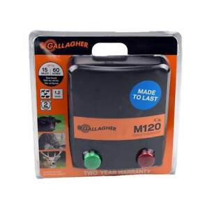 Brand New Gallagher M120 Fence Energizer Ships Free
