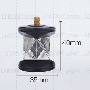 New Mini Silver Plated Prism 360 Degree Prism Only Prism Heads