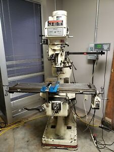 Jet Vertical Mill Milling Machine With Powerfeed Jtm 4vs