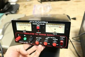 Pyramid Ps 32 Lab 5 Amp 0 30 Volt Regulated Dc Power Supply