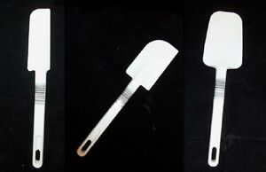 Rubbermaid Commercial Spatula Scraper Spoonula Set New 1901 1913 1933 White