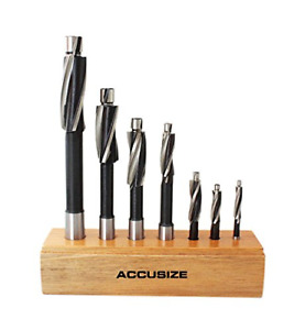Accusizetools Metric H s s Solid Cap Screw Counterbore Set 3 Flute Straight