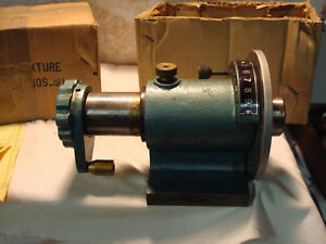 Machinist Horizontal Spin Indexer Uses 5c Collets