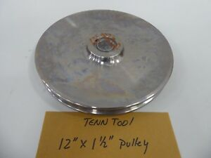 Tennessee Tool 12 X 1 1 2 Pulley