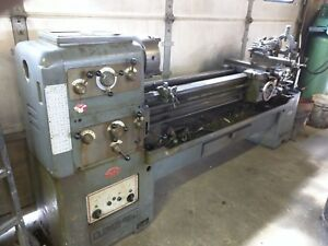 Lathe Large Clover Gap Bed Engine Metal Lathe Steady Rest And Positive Stop