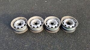 Slotted Rallye Wheels 14x6 Date Match Set Of 4 Charger Coronet Satellite Mopar