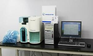 Innovatis Cedex Hires Cell Analyzer Trypan Blue Cell Counter W Pc