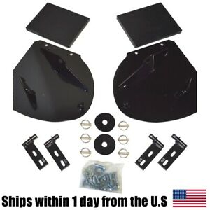 Heavy Duty Snow Plow Pro Wing Blade Extensions For Blizzard Snowplow Blade
