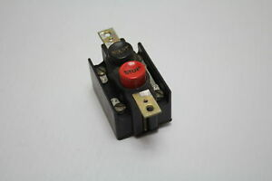 Cutler hammer 10250h2747a Start Stop Pushbutton Switch Used