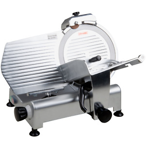 Commercial 12 Manual Gravity Feed Countertop Meat Slicer 1 3 Hp Built in Sharpen