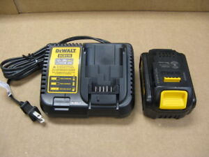 Dewalt 20 Volt Max Lithium Battery And Charger Combo