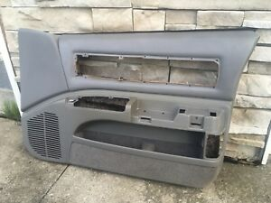 92 93 94 95 96 1994 1995 1996 Impala Ss Caprice Gray Passenger Side Door Panel