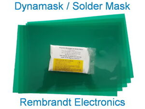 Dynamask The Best Diy Solder Mask 10 Sheets 20x30cm 50gram Developer us