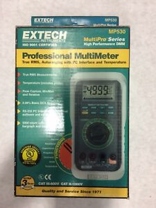 Extech Mp530 Professional Multimeter Free Shipping